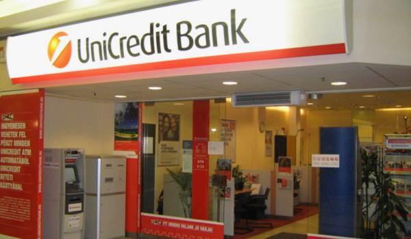 Банкоматы партнеры Юникредит банка