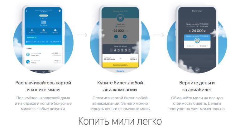 Онлайн заявка на кредитную карту Тинькофф All Airlines